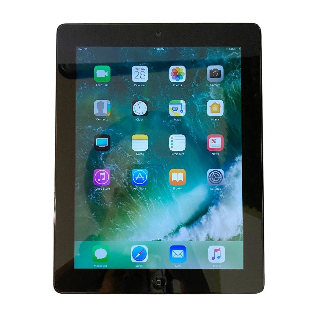 iPad 4th Generation Silver 64 GB