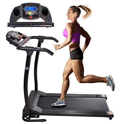 1100W Folding Electric Treadmill