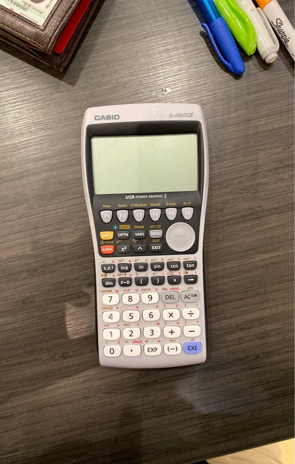 Graphing Calculator Casio fx-9860GII