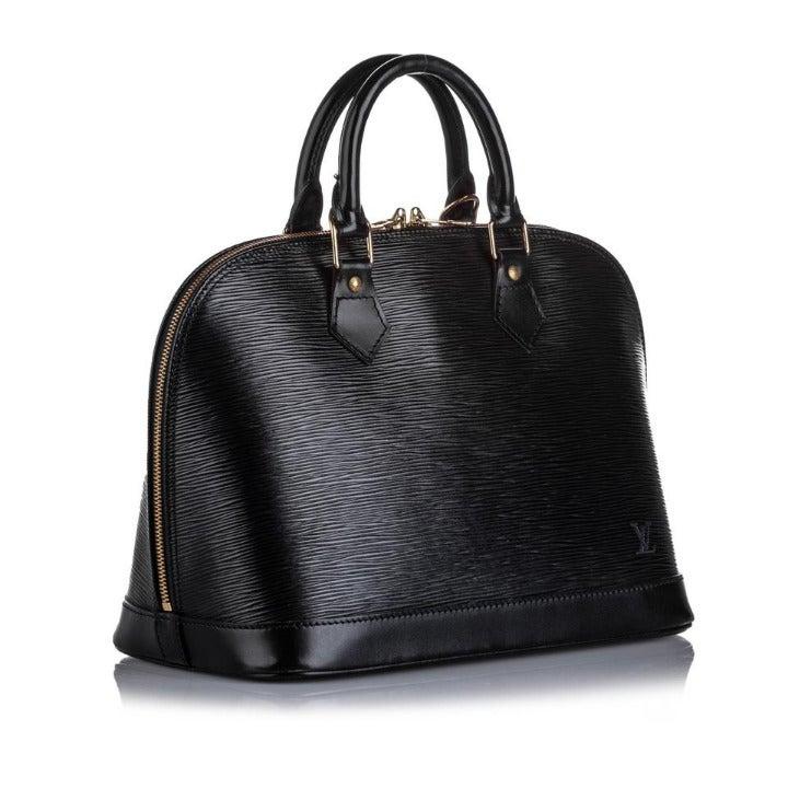 Louis Vuitton Black Epi Leather Noir Alm