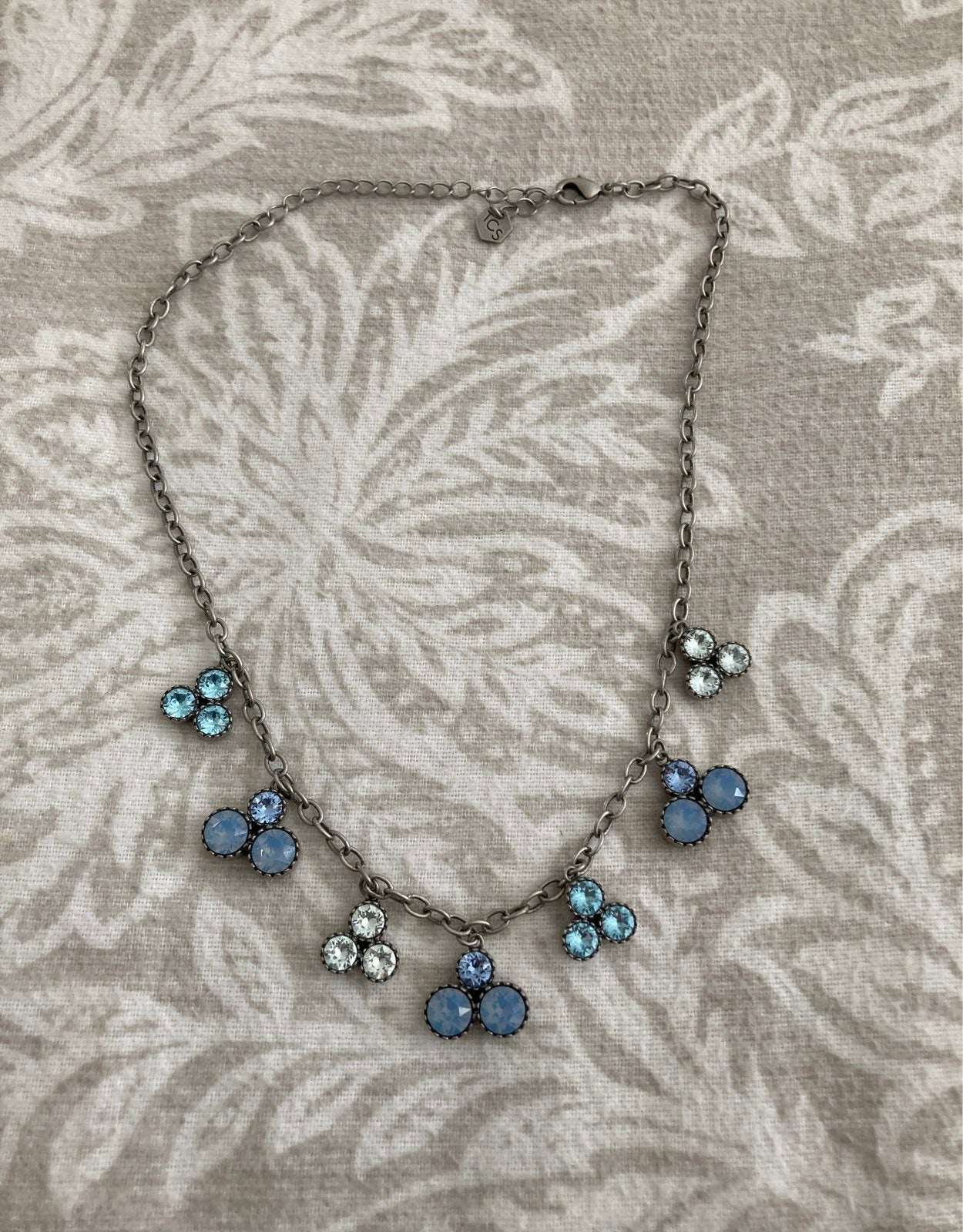 touchstone crystal by Swarovsky  necklac