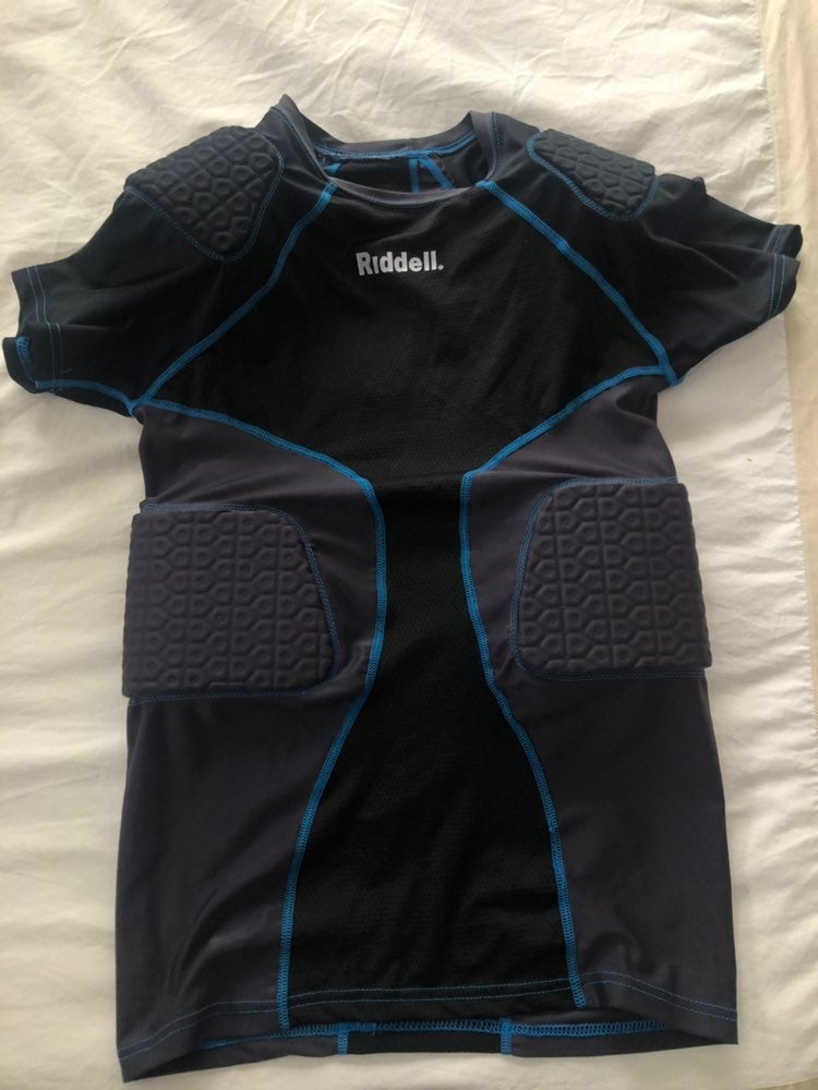 Riddell football padded shirt