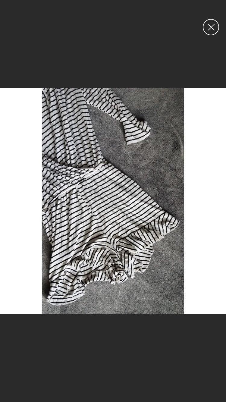 Striped romper