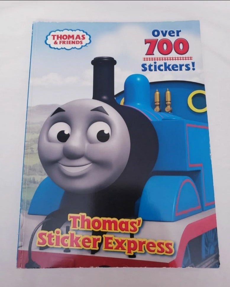 Thomas The Train Activity Book