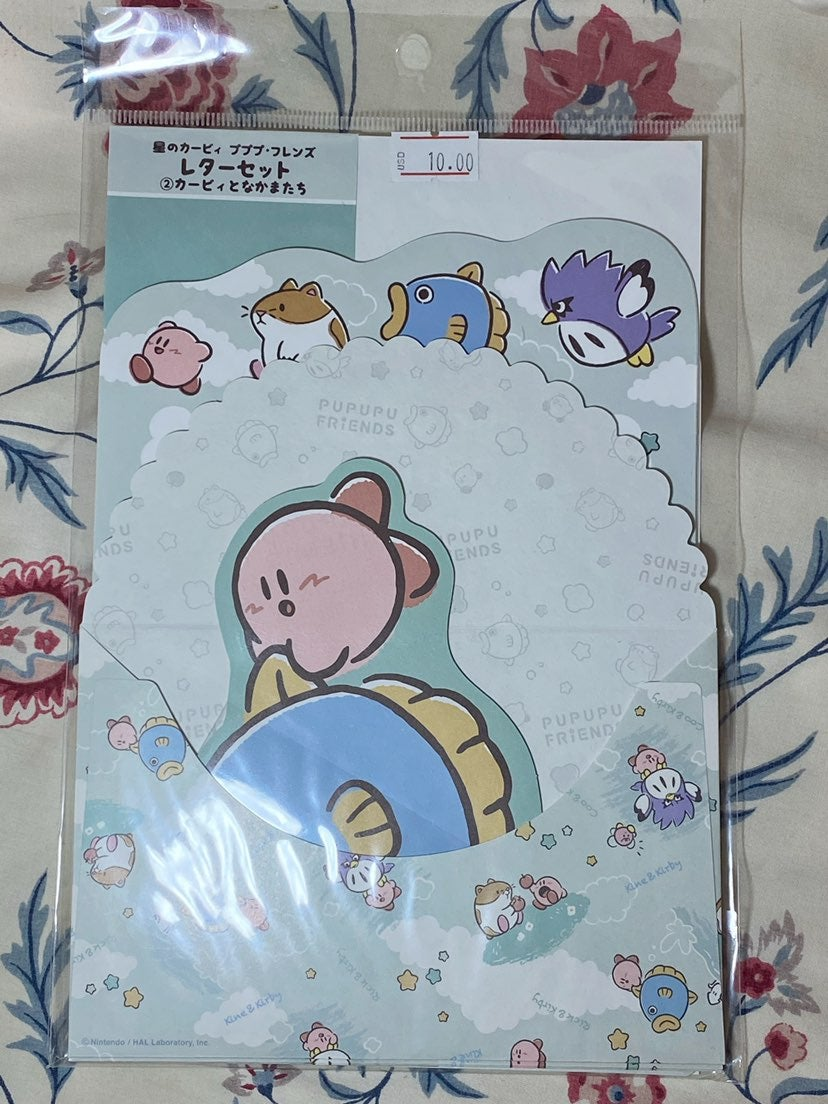 Kirby and friends letter set