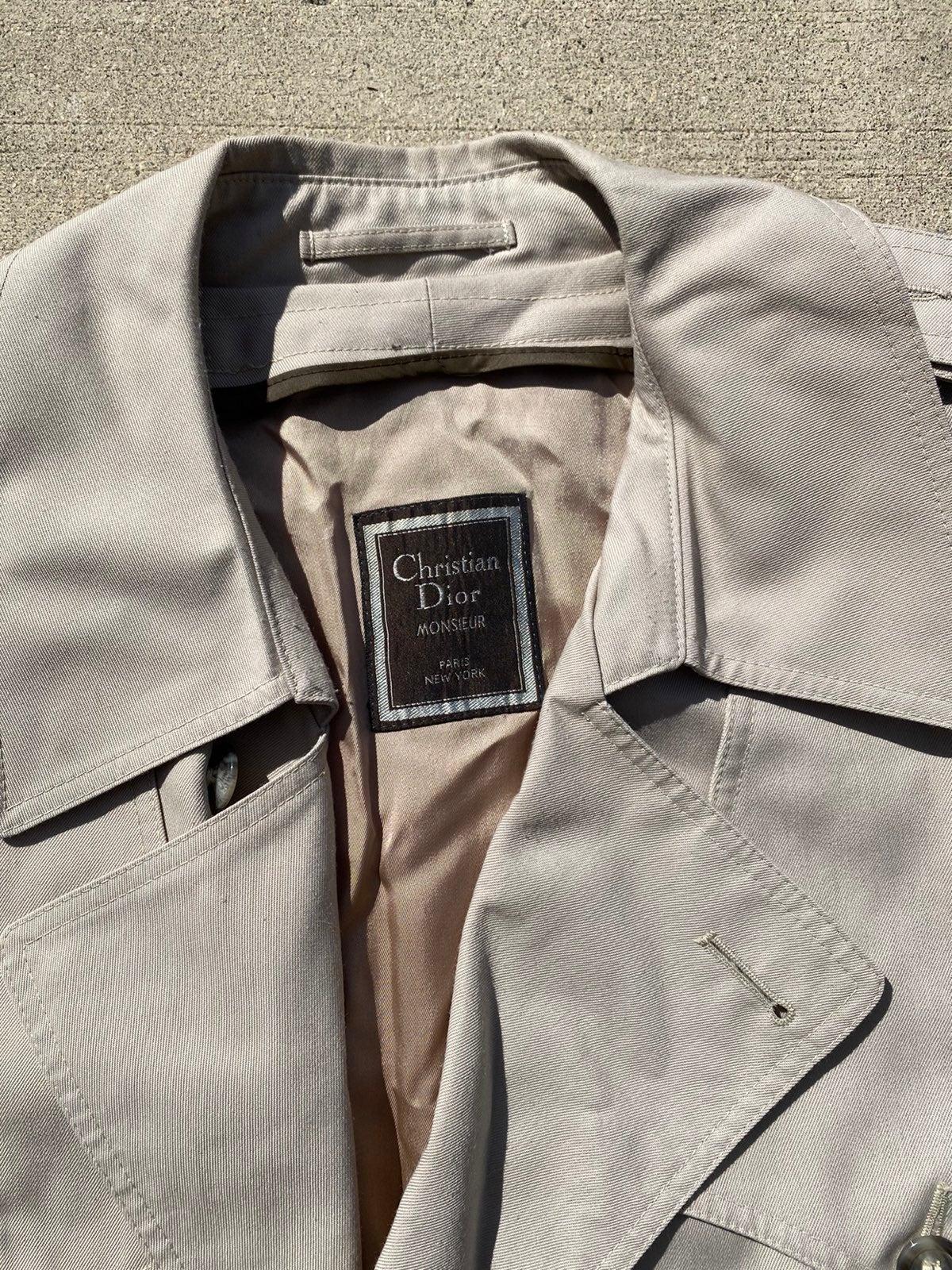 Christian Dior Beige Cream Trench Coat