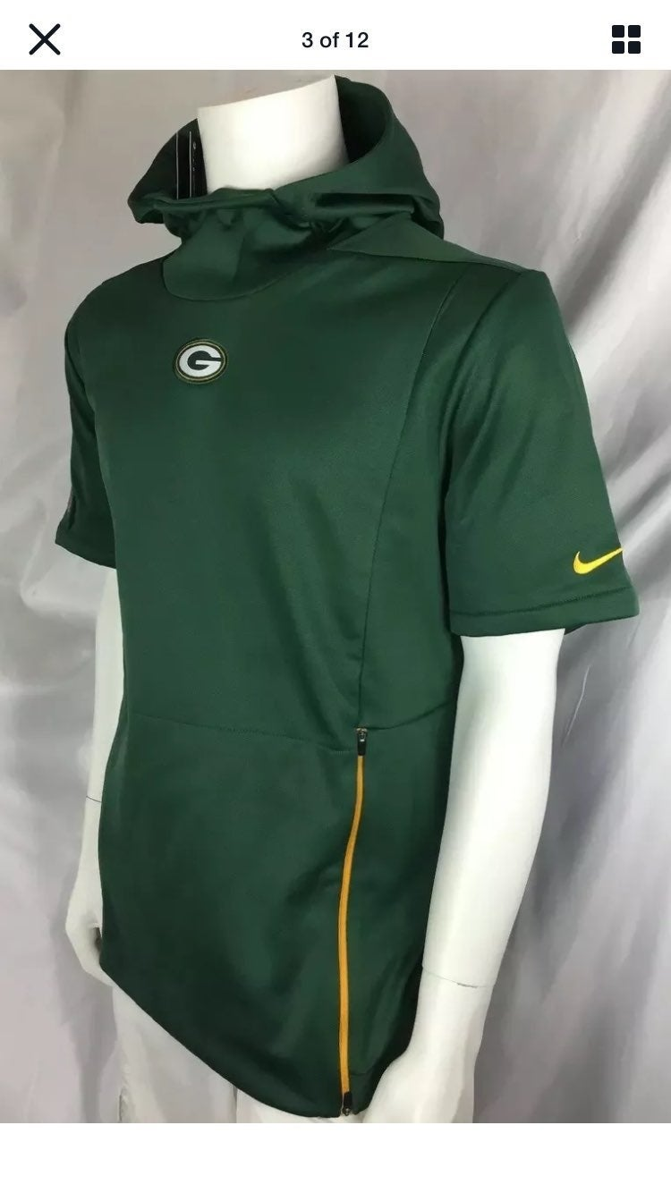 Nike dry-fit Green bay Packers H Sz Larg