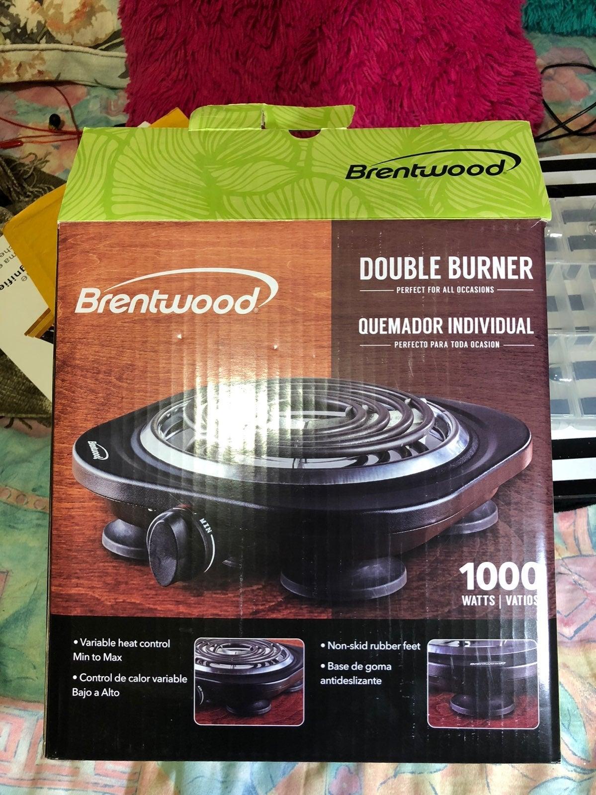 Double Burner- Brentwood Brand