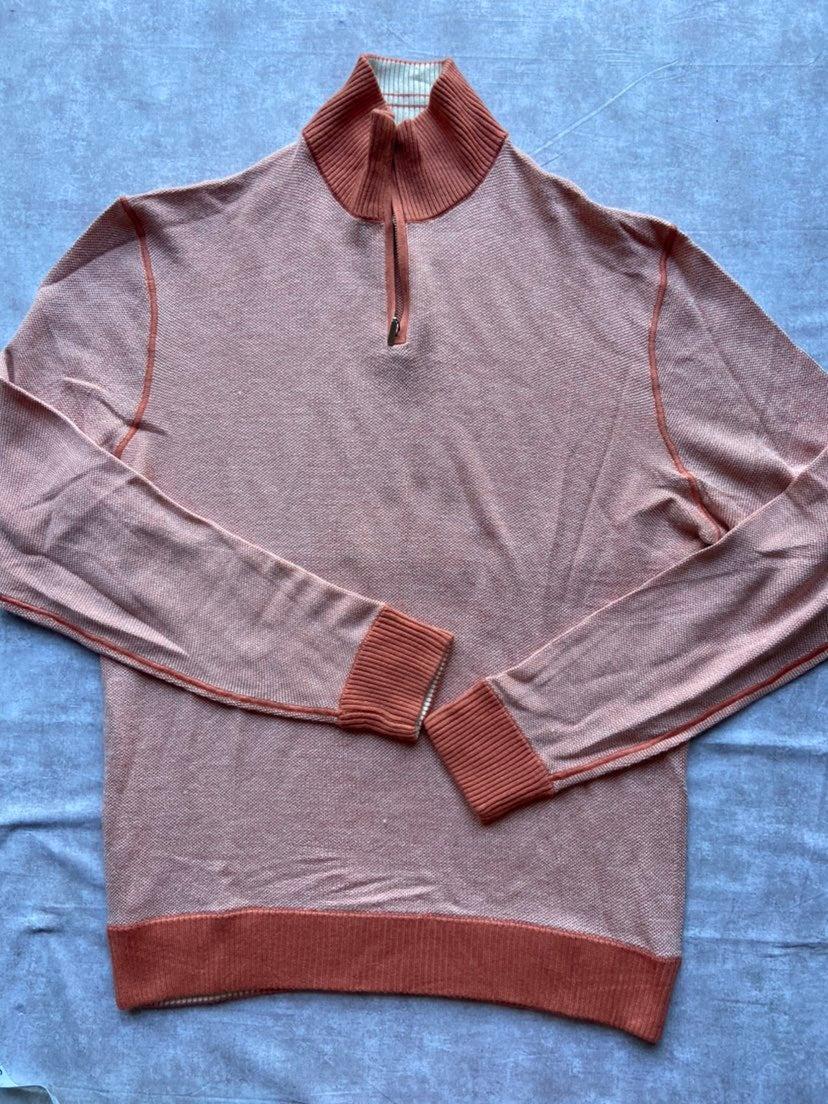Bloomingdales men sweater orange L