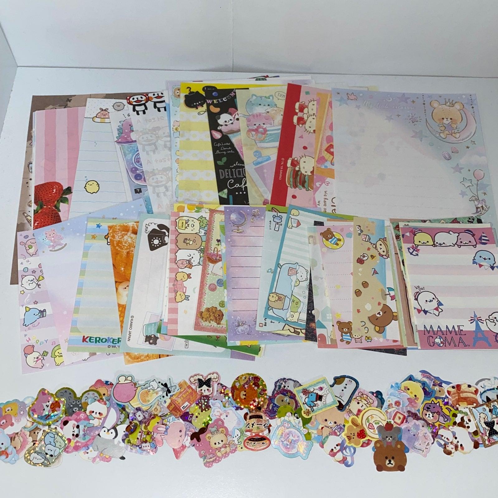 Kawaii 200 Pcs Memo Sheets Stickers Lot