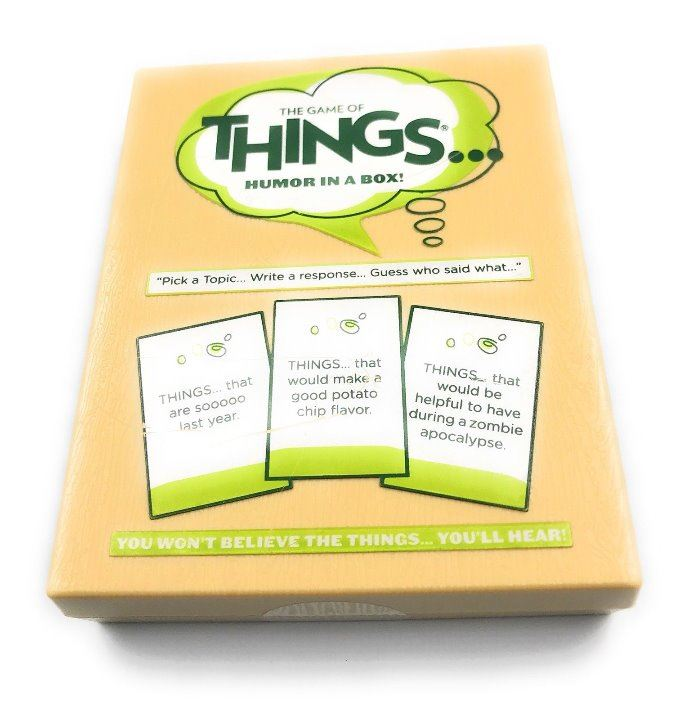 The Game of Things Humor in a Box  Adult