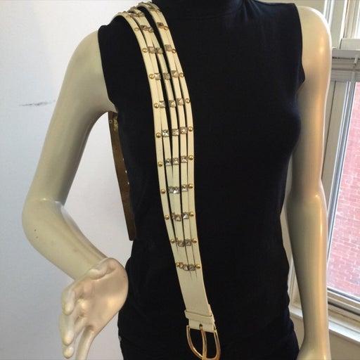 New Michael Kors leather multi strand be