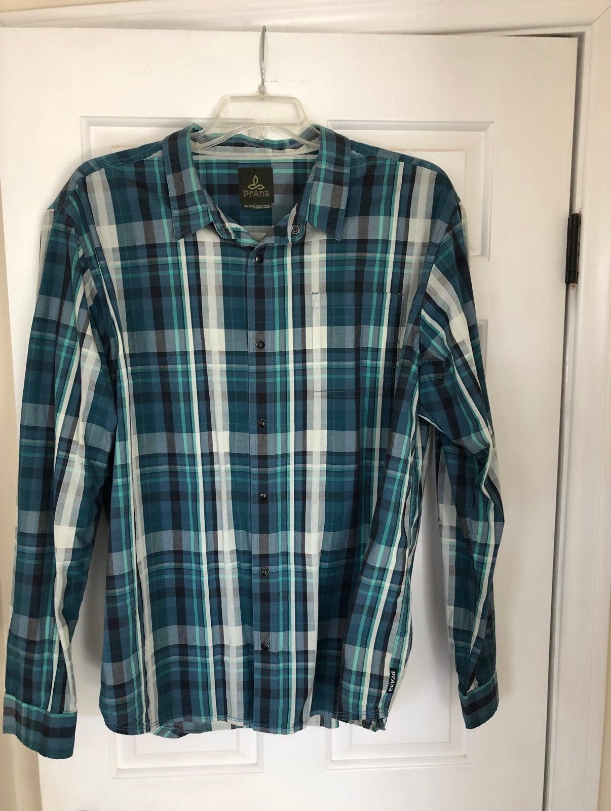Prana long sleeve Mens Shirt
