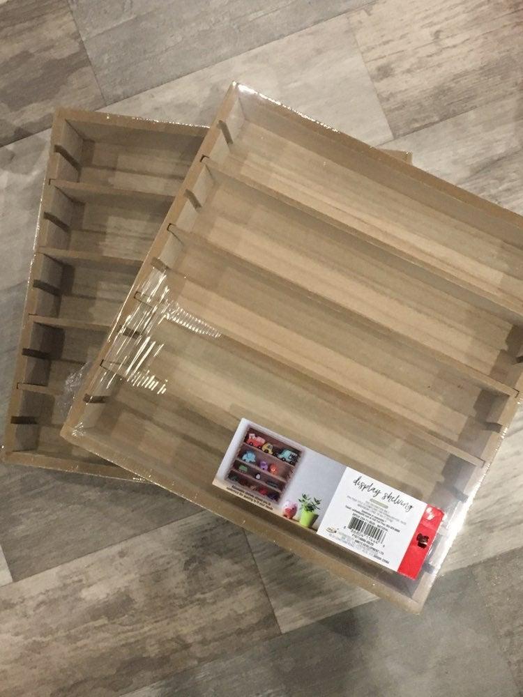 Target Wood Display Shelf Shelving