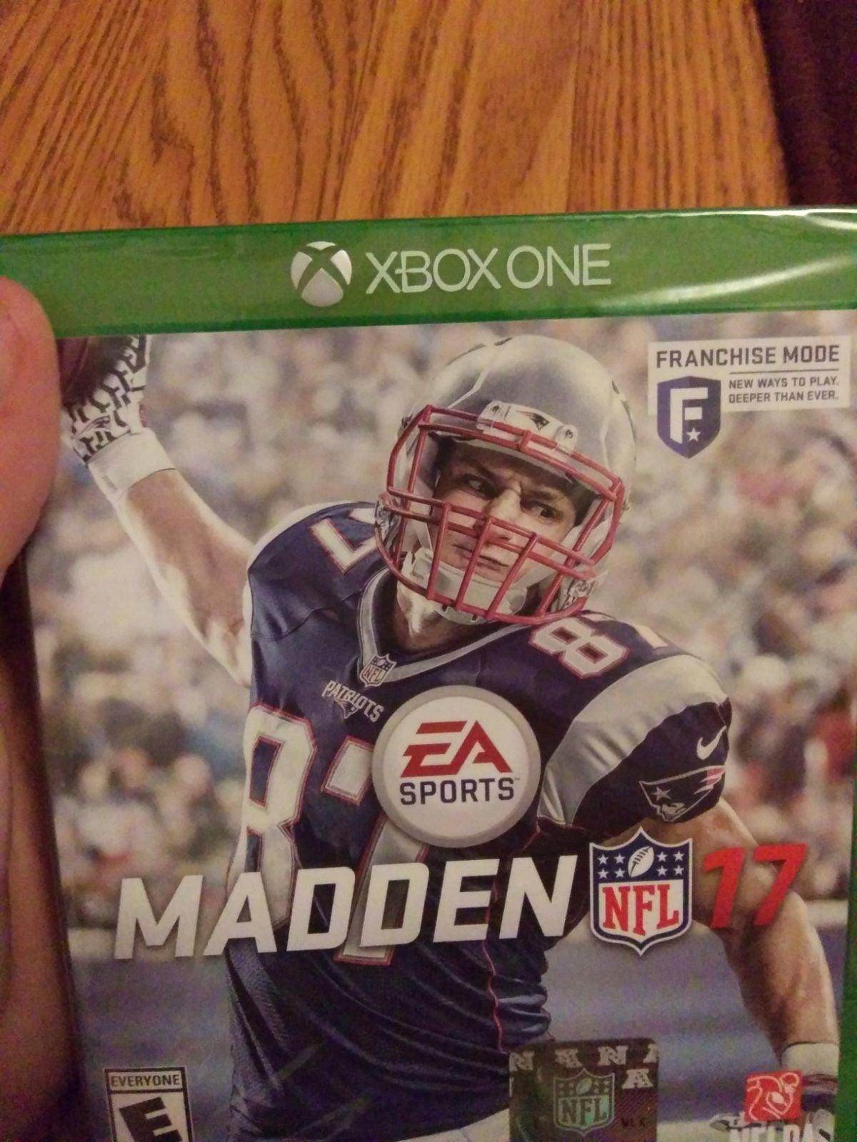 New Madden 17 Xbox One