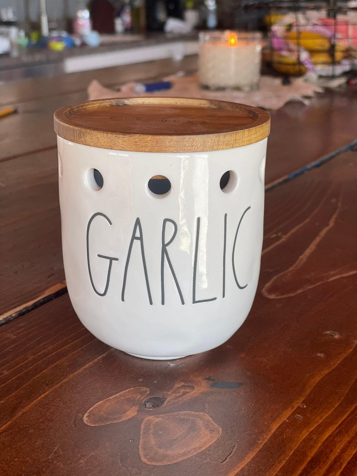 Rae Dunn Garlic Cellar New