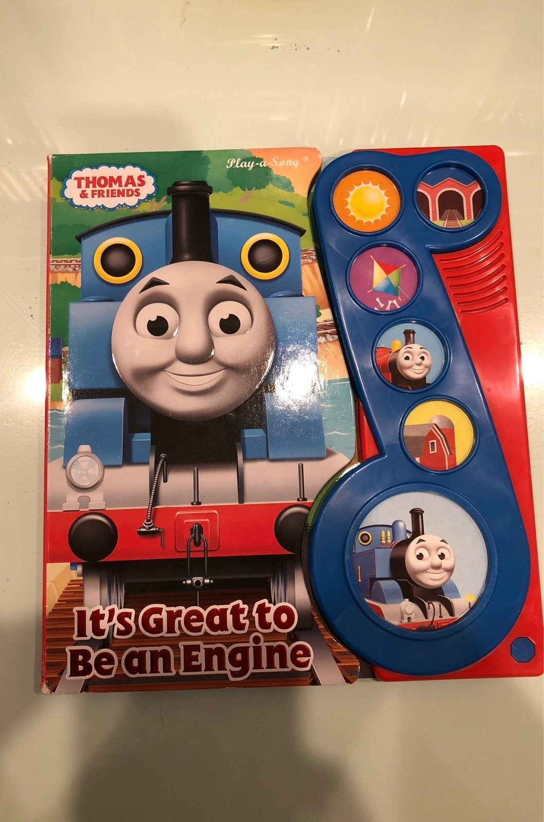 Thomas & Friends singing sound book