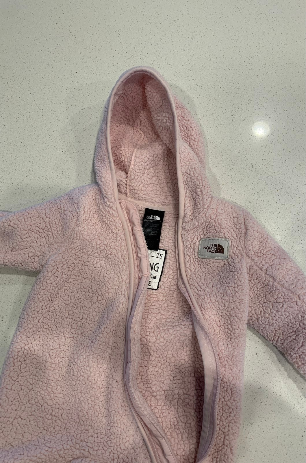 Baby northface suit