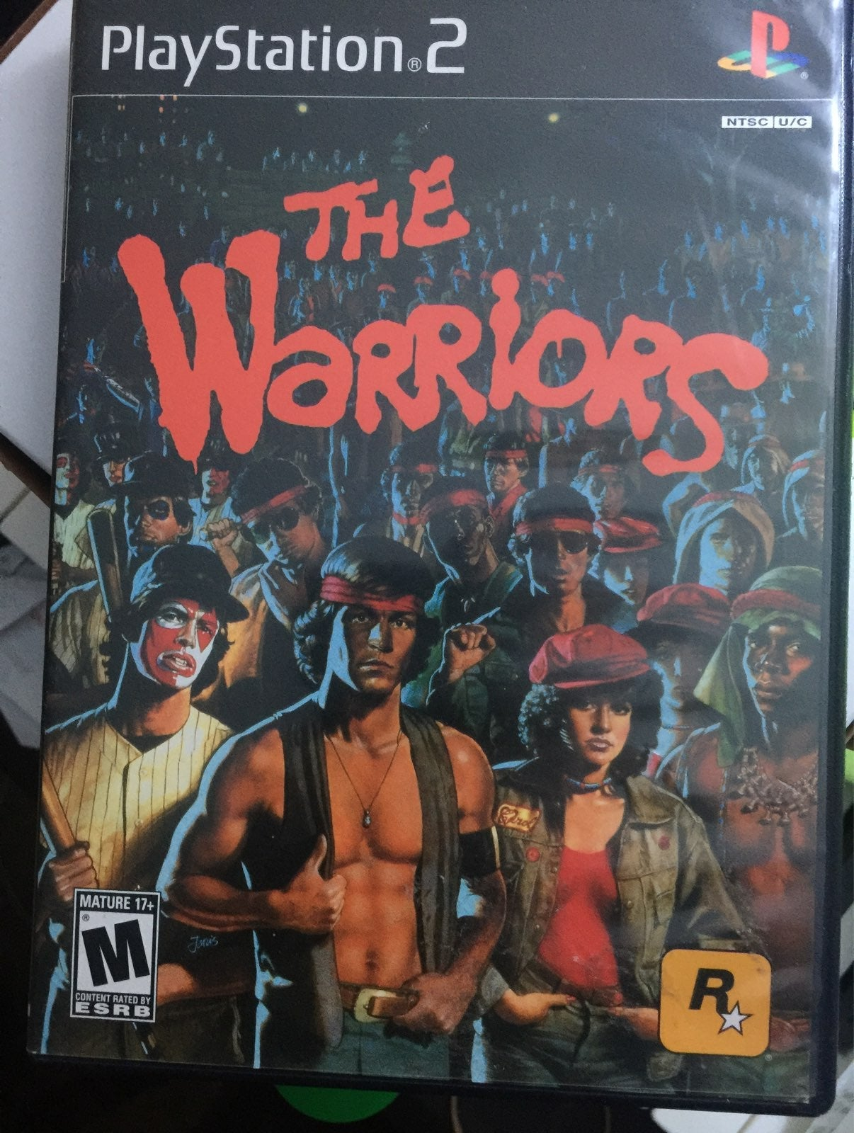 The Warriors on Playstation 2
