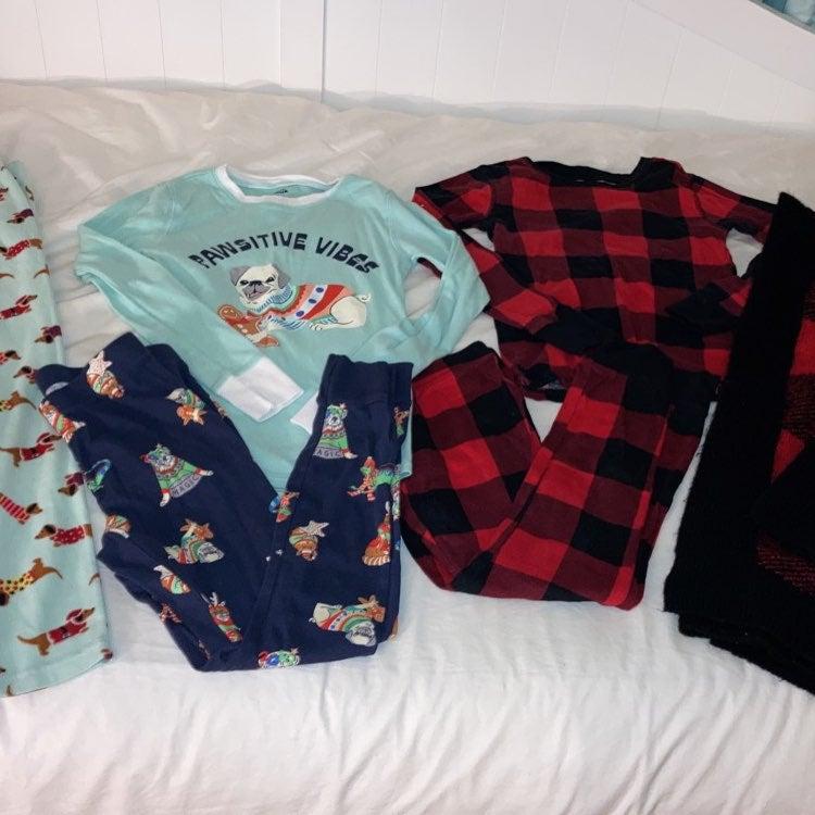 Kids Old Navy Christmas Pajama Bundle