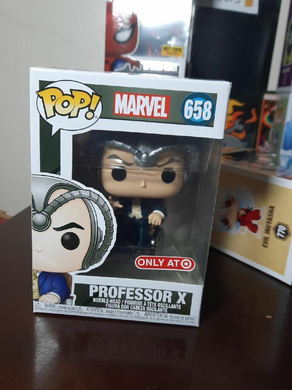 Professor X Funko Pop 658 target X-men