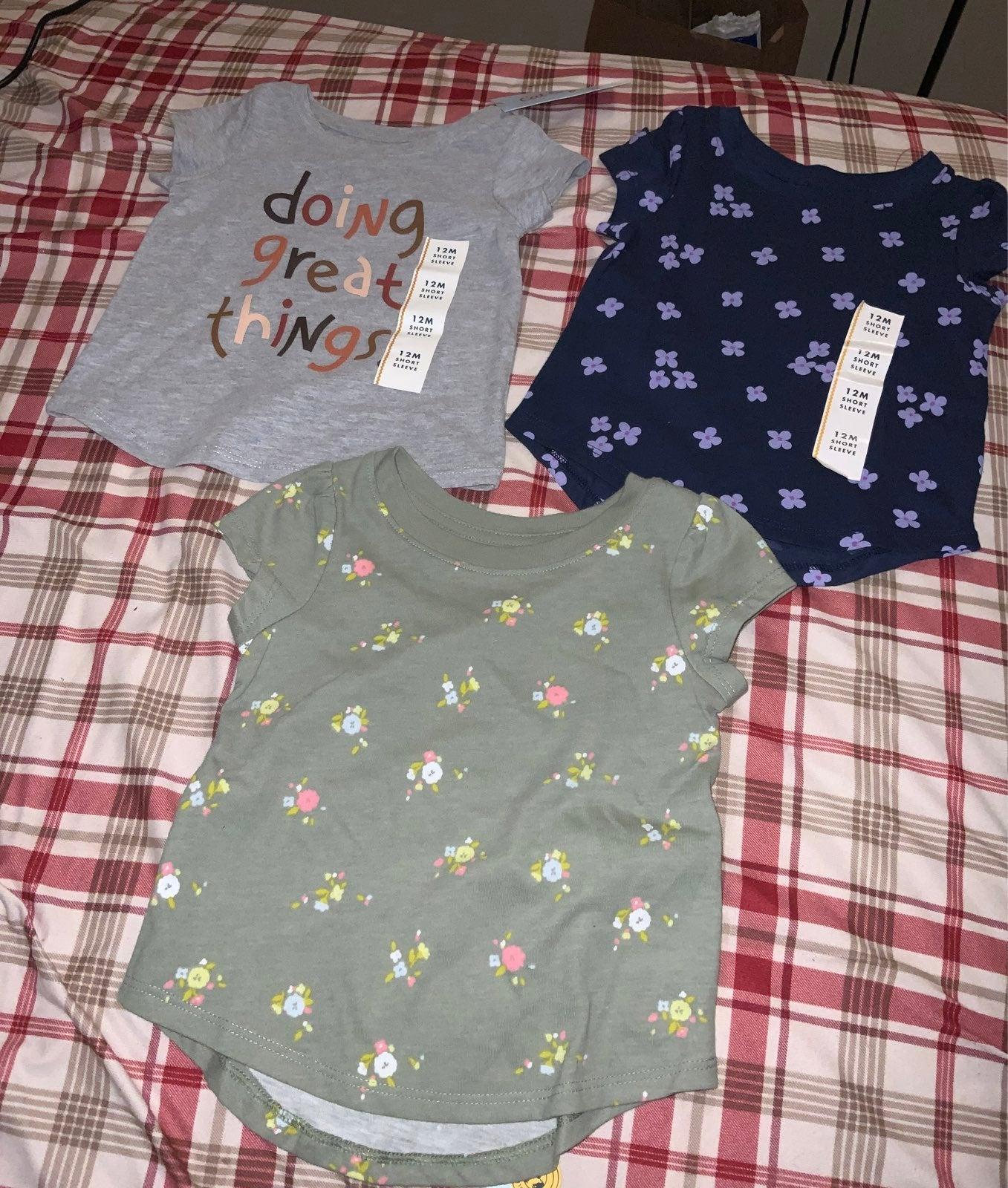 Baby girl shortsleeve