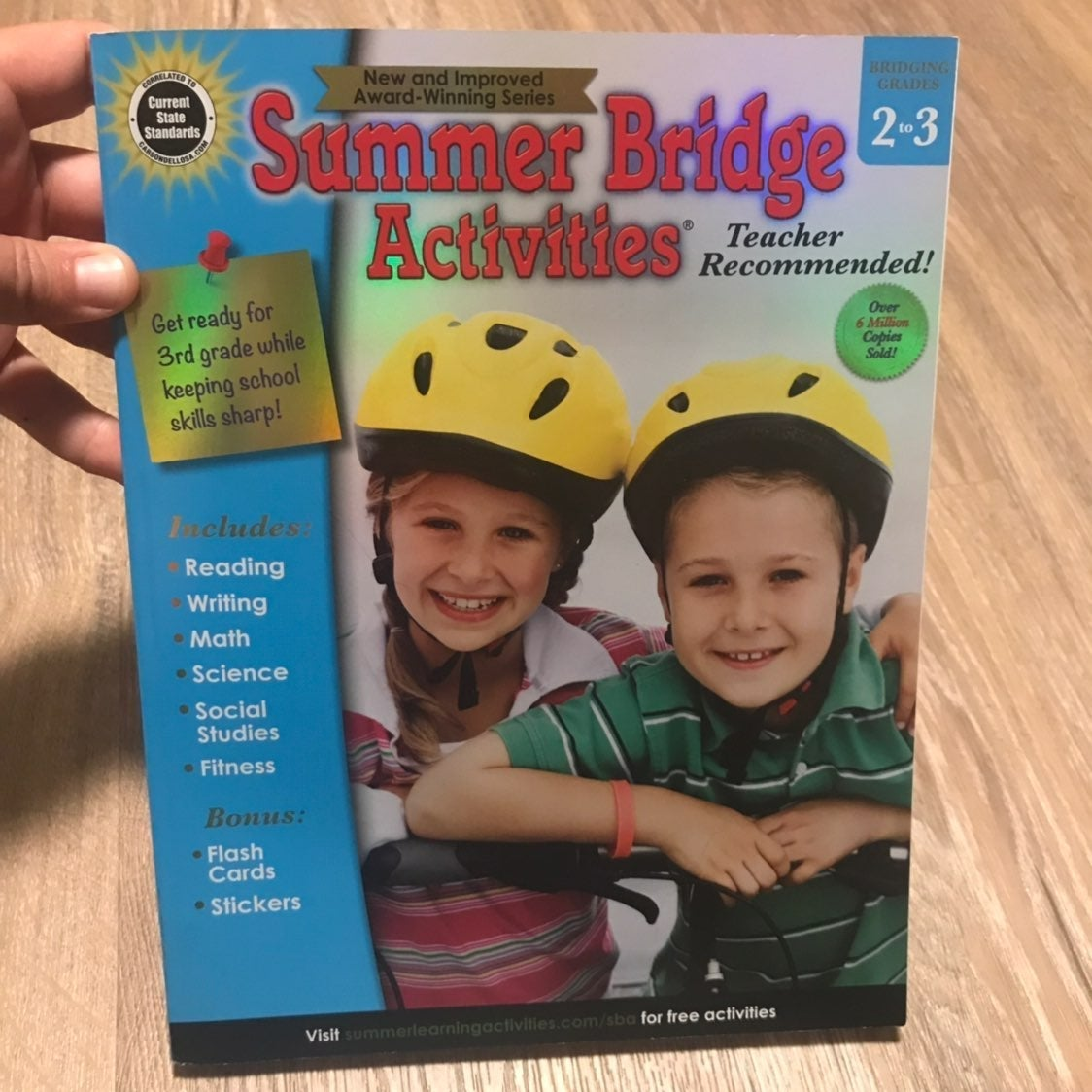 Carson Dellosa Summer Activities Book