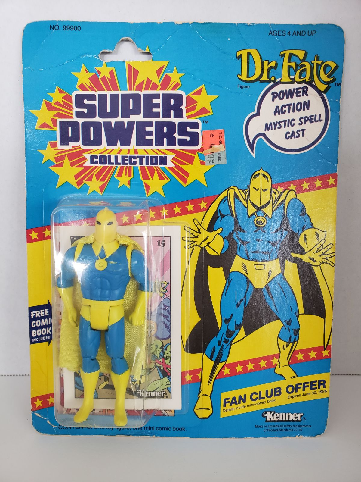Super Powers Dr. Fate