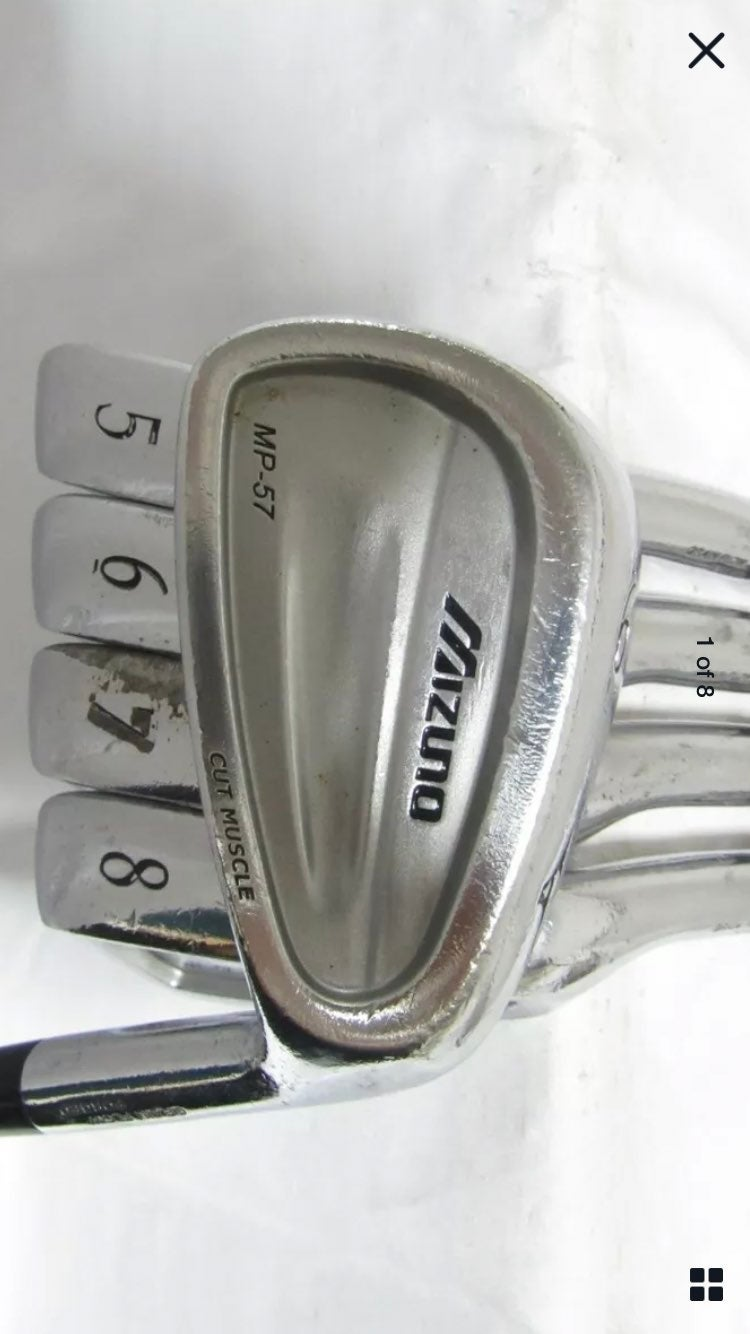 Mizuno MP-57 Forged 5-9 Iron Set