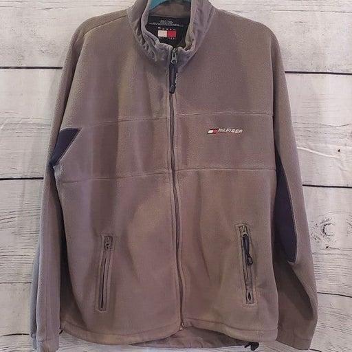 vintage Tommy Hilfiger fleece jacket XL