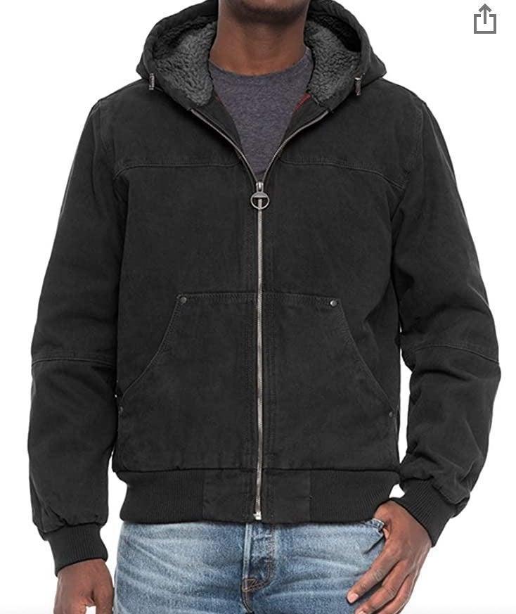 GH Bass Carhartt style heavy canvas coat