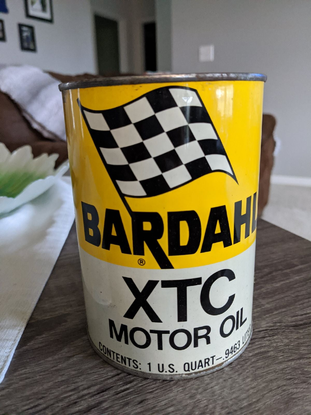 Vintage Bardahl XTC Motor Oil 1 QT. Unop