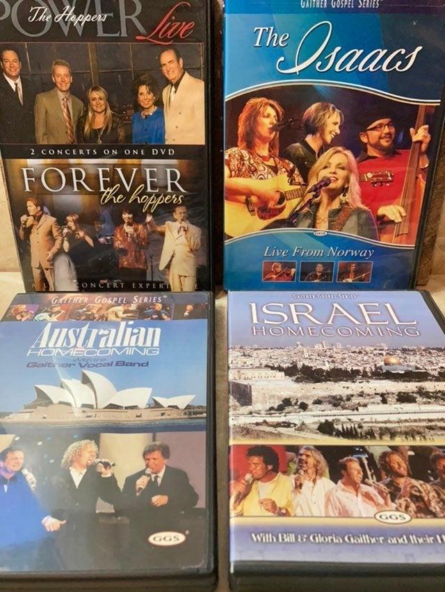 Lot of Gaither Gospel Series DVDs