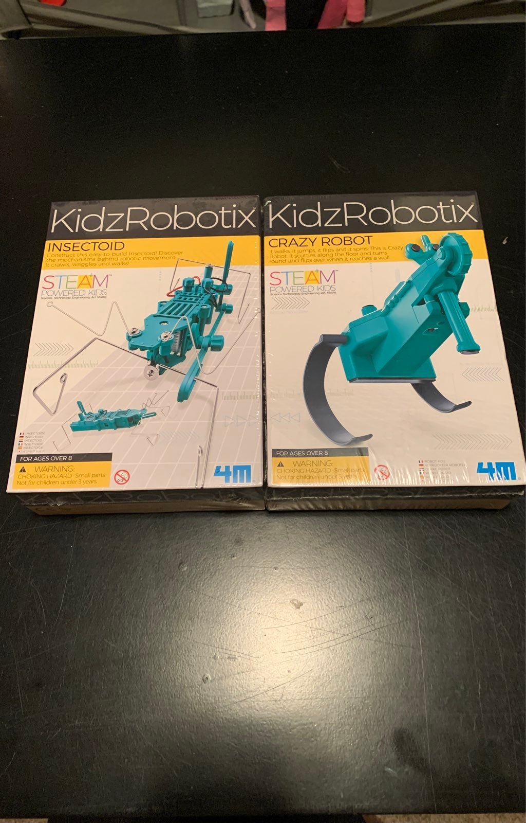2 new kidzrobotix insectoid/robot kits