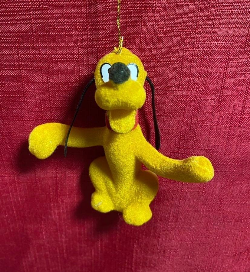 Pluto 1970s Christmas Ornament