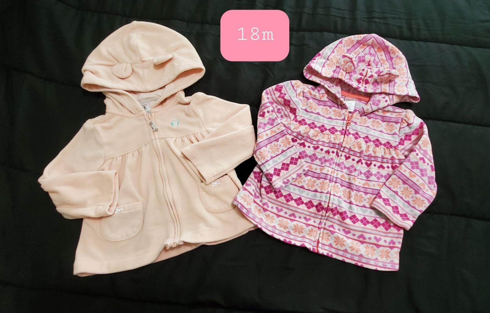18m Fleece Jackets