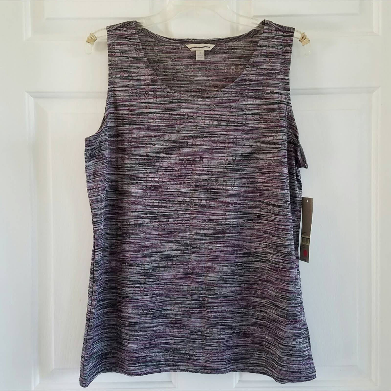 Laura Ashley/ dressy tank top