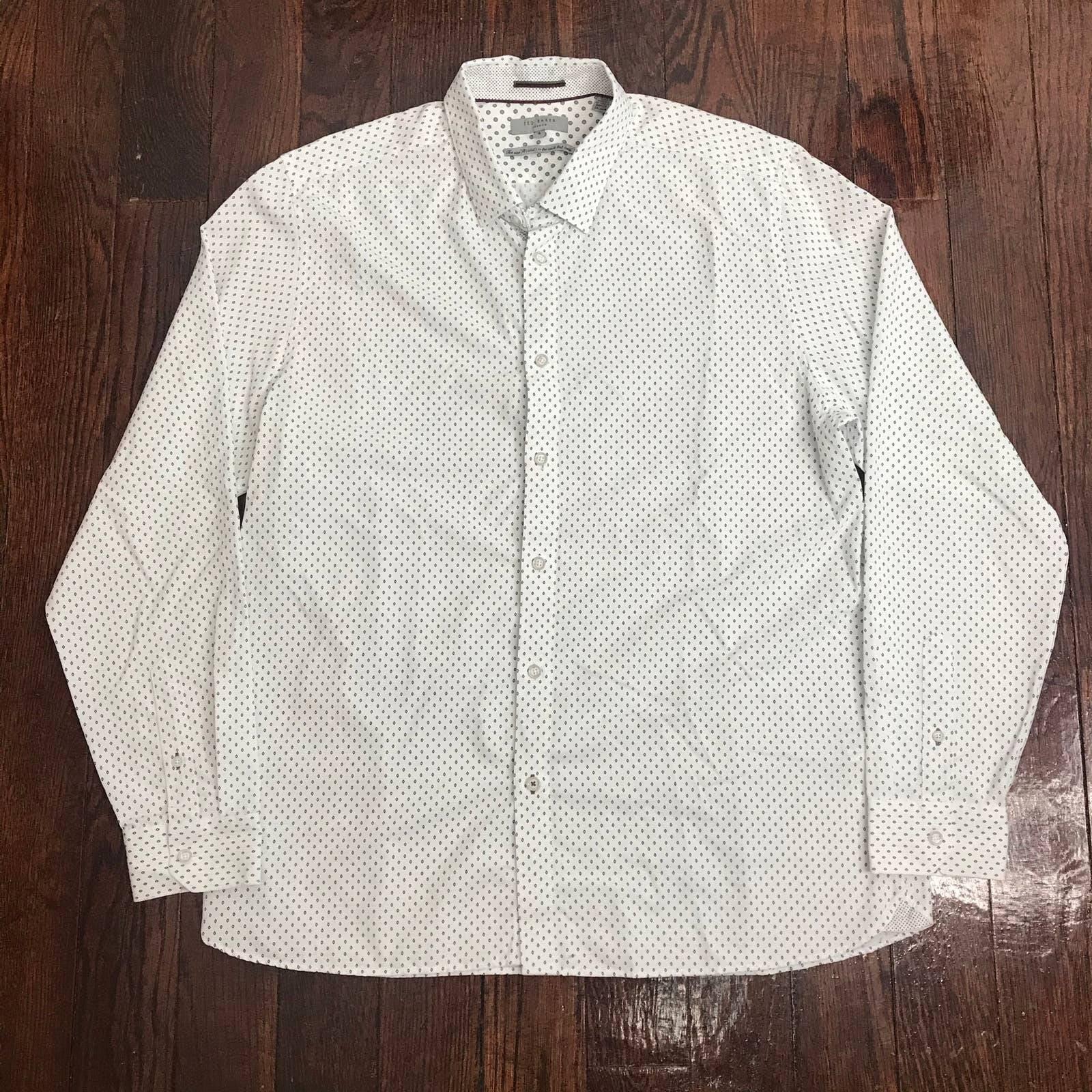 Ted Baker London Button Dress Shirt Sz 6