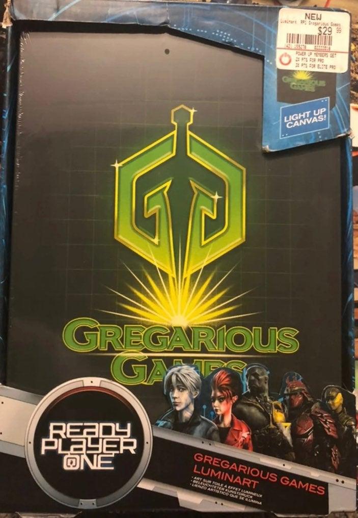 Gregarious Games Luminart Night Light
