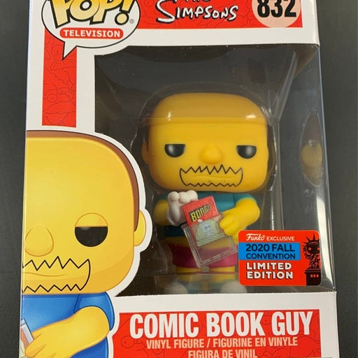 The Simpsons Comic Book Guy Funko Pop