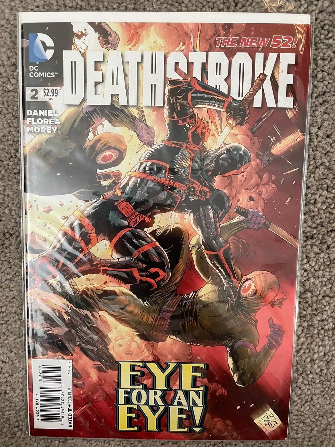 Deathstroke 2 (2015) KEY comic