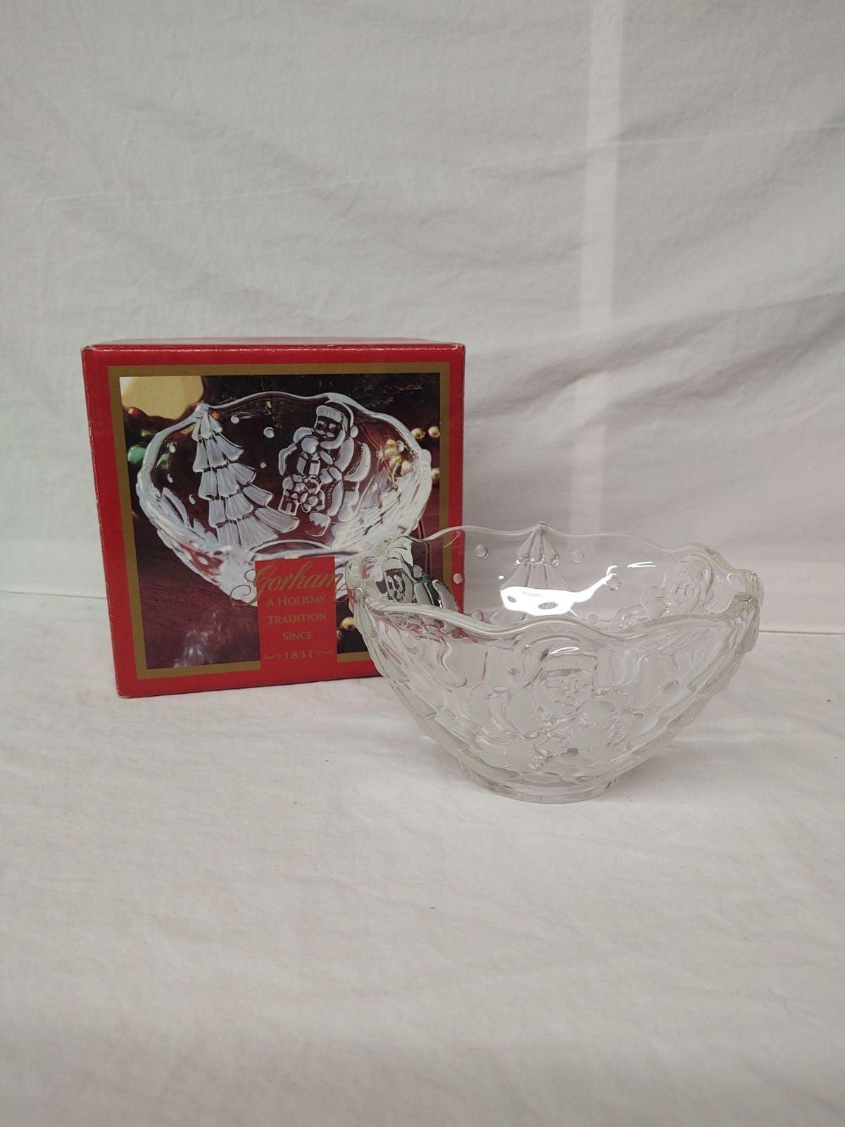 Crystal Christmas Bowl
