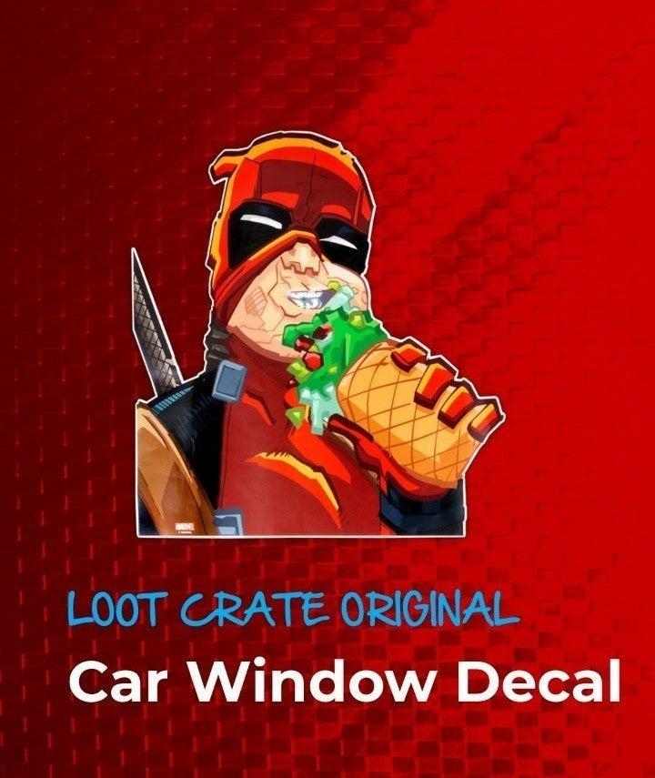 Deadpool Car Decal
