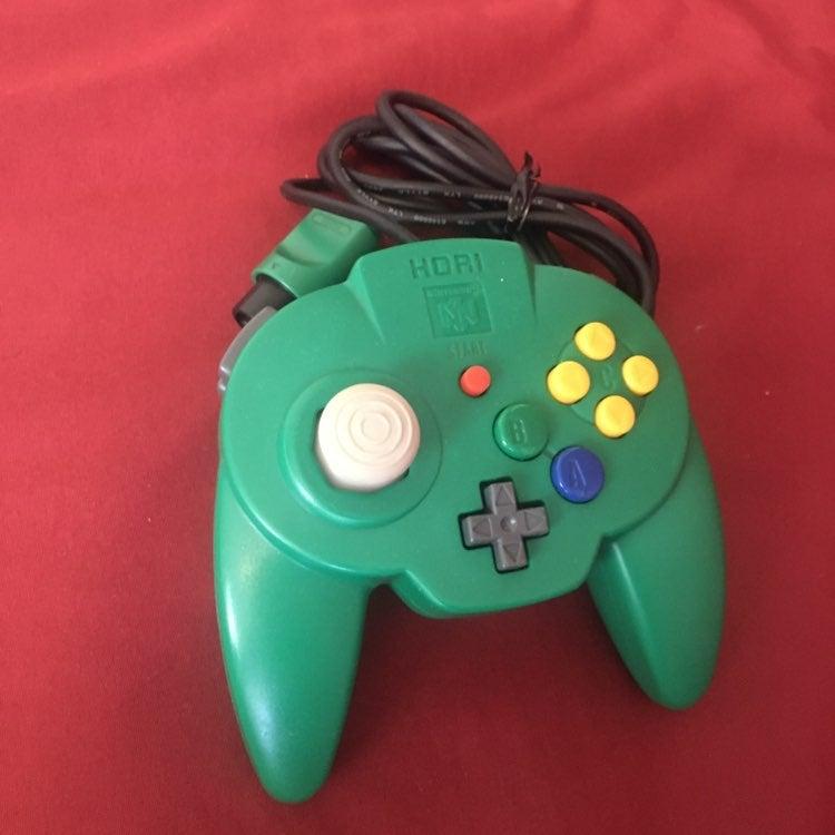 Hori Green n64 controller