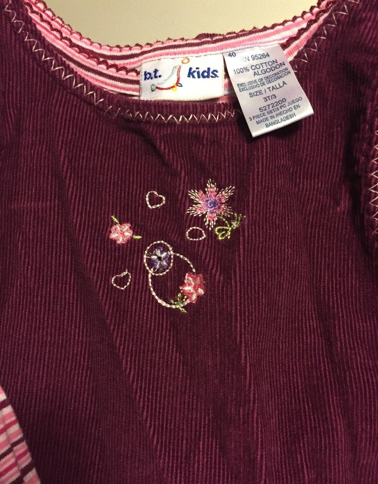 2 piece Corduroy Dress