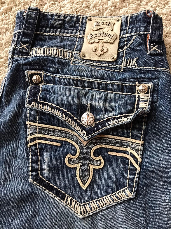 Men's Rock Revival Jeans Size 40