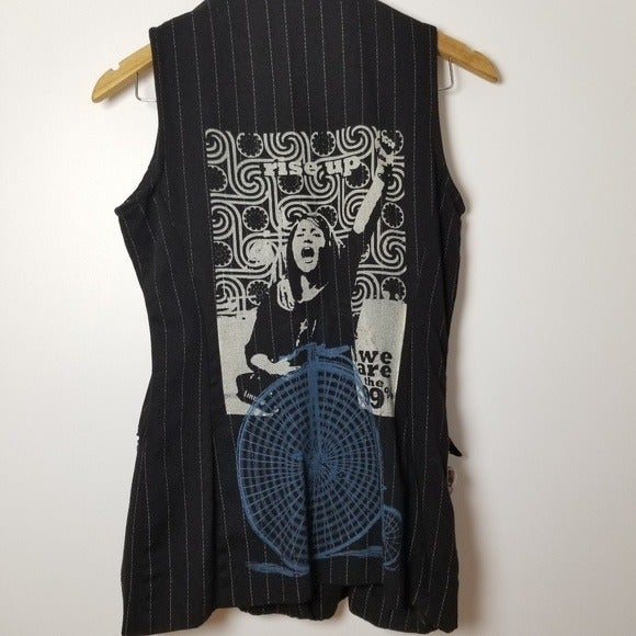 Handmade patched Vest M
