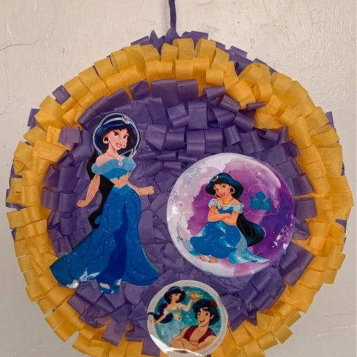 "Aladdin Princess Pinata 15"" x 6"" Round"