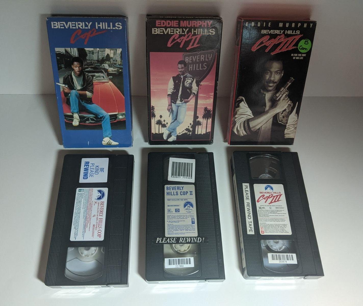 VHS Beverly Hills Cop Trio