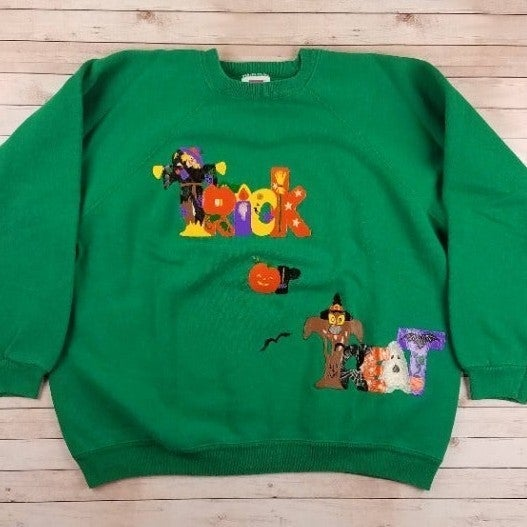 VTG 80s/90s Trick Or Treat Sweatshirt